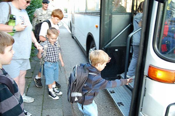 Eli's 1st Day of School 022